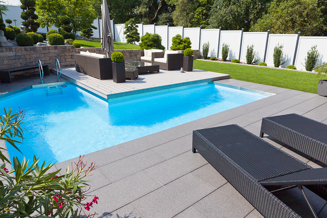 awesome moderne gartengestaltung mit pool images